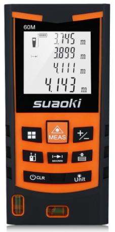 telemetre Suaoki S9 60m