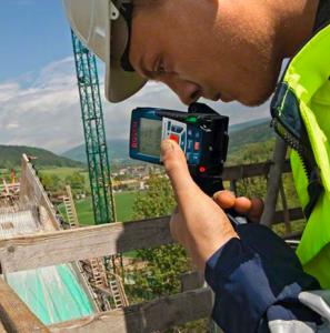 telemetre laser chantier